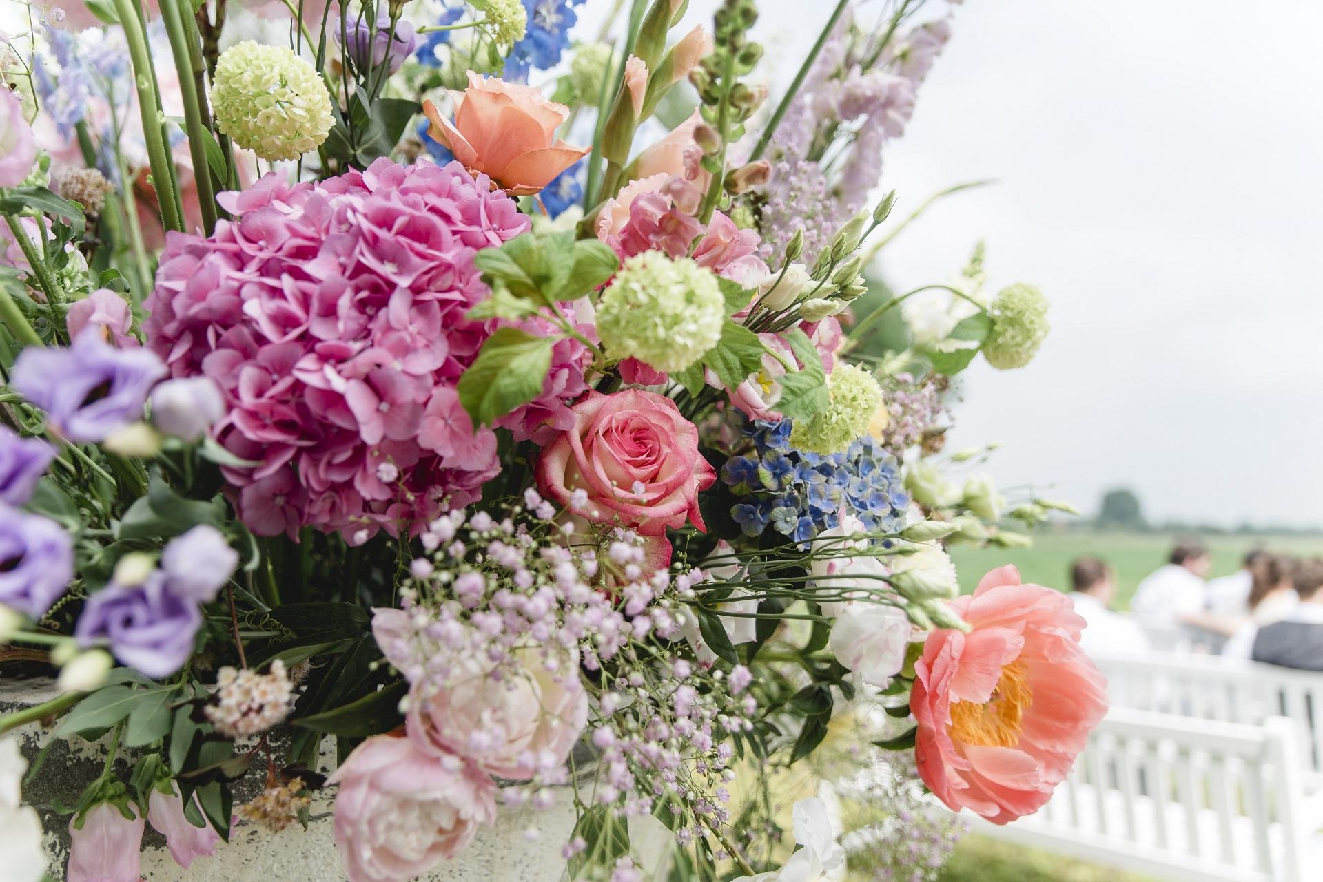 bloemstuk voorjaarsbloemen