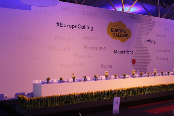 Europe is Calling hoofdtafel Expo