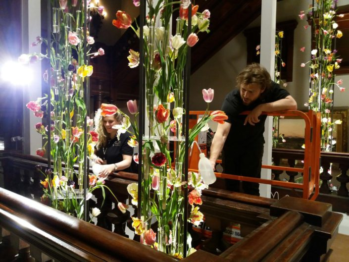 Tefaf New York Flower decorations