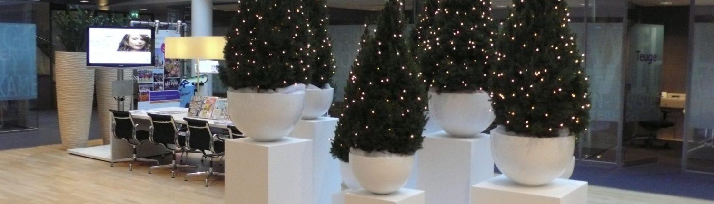 Kerstdecoratie bedrijf