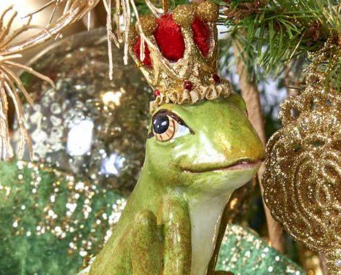 kikker, kerstbal, kersthangers, dier, fantasiefiguren, kerstdecoratie, woonaccessoires, homedecoration