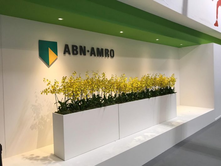 Cymbidium, beplanting, ABN AMRO World Tennis Tournament, evenement