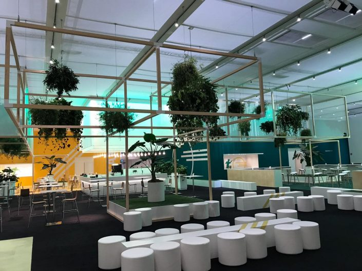 beplanting, ABN AMRO World Tennis Tournament, hangende elementen, evenement