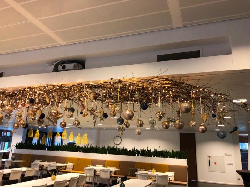Rababank kerstdecoratie